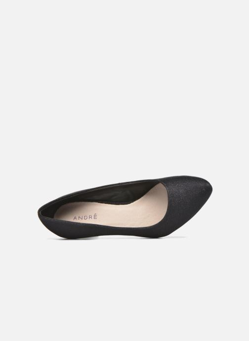 Zapatos de tacón André Prettty Negro vista lateral izquierda