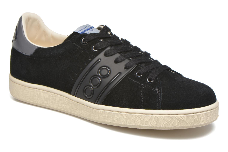 Sneakers Serafini Jimmy Connors Zwart detail