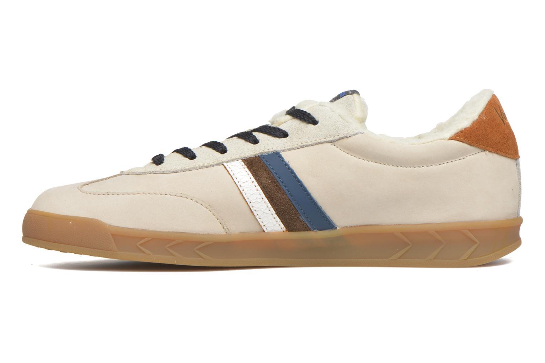 Sneakers Serafini Flat Verbier Beige se forfra