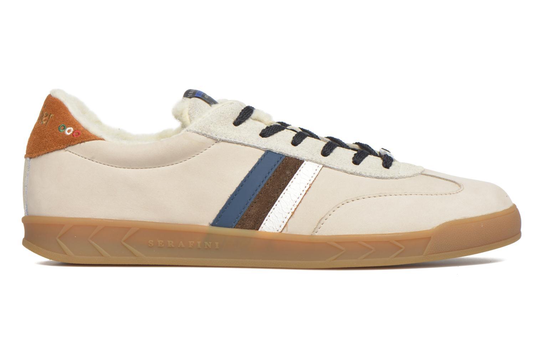 Sneakers Serafini Flat Verbier Beige se bagfra
