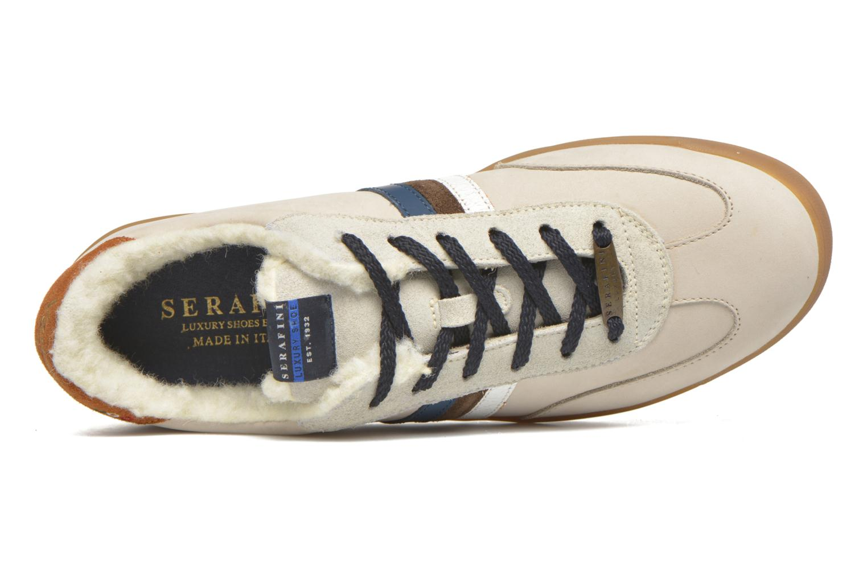 Sneakers Serafini Flat Verbier Beige se fra venstre