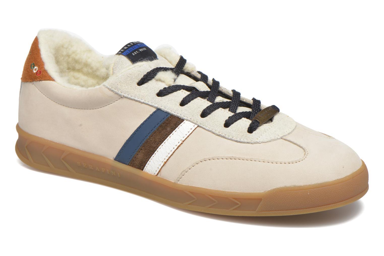 Sneakers Serafini Flat Verbier Beige detaljeret billede af skoene