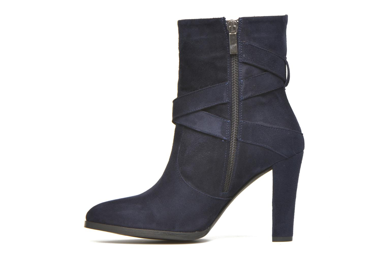 Ankle boots Perlato Paola Blue front view