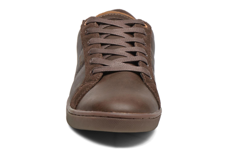 Baskets André Vouille Marron vue portées chaussures
