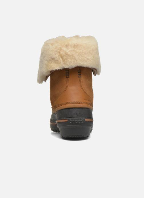 Crocs Allcast Ii Luxe Boot W (bruin) - Boots En Enkellaarsjes(274537)
