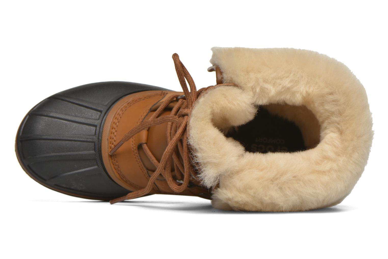 Boots Crocs AllCast II Luxe Boot W Brun bild från vänster sidan