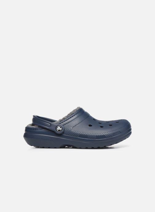 Sandalias Crocs Classic Lined clog Azul vistra trasera