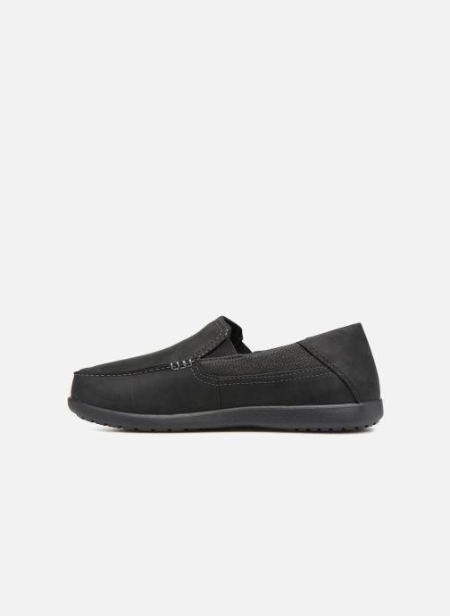 Mocassins Crocs Santa Cruz 2 Luxe Leather M Noir vue face