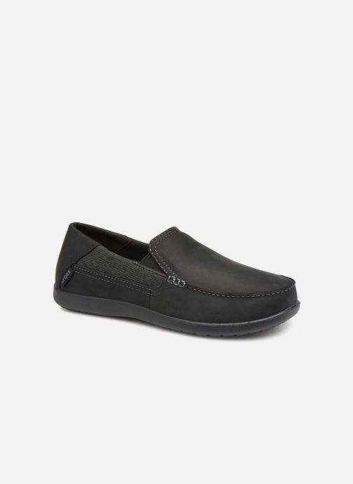 Luxe M black Black 2 Santa Leather Crocs Cruz yY6vbfI7g