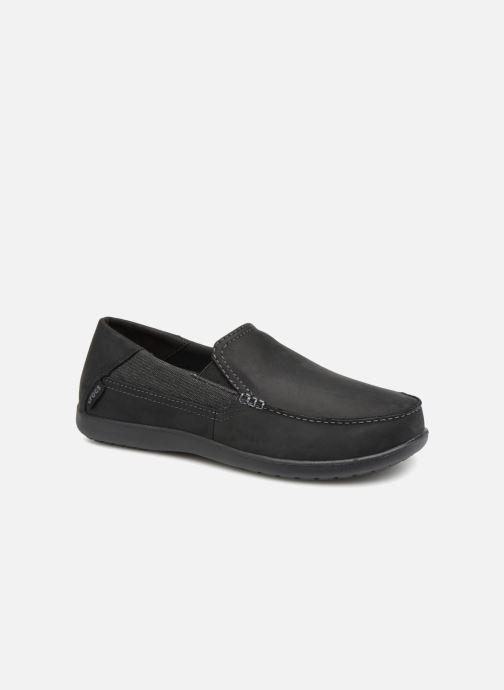 Mocassins Crocs Santa Cruz 2 Luxe Leather M Noir vue détail/paire