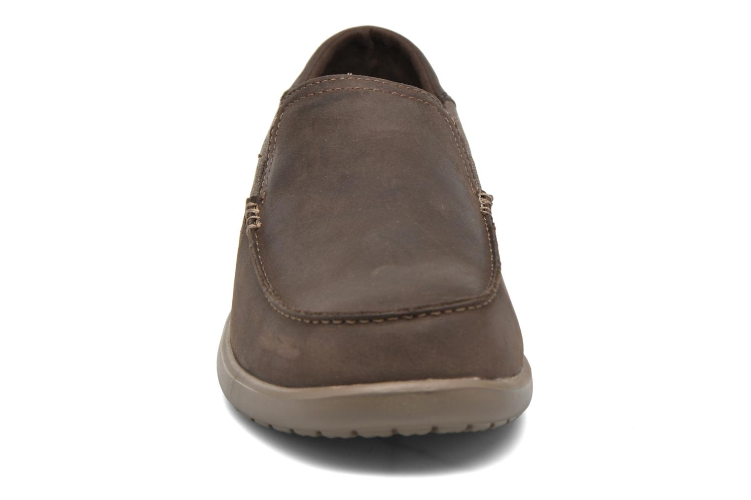 Santa Crocs Leather M Espresso 2 Cruz Luxe Walnut VpLqzSUMG