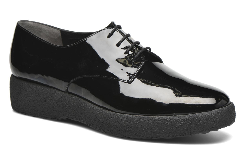 Snøresko Clergerie Feydol Sort detaljeret billede af skoene