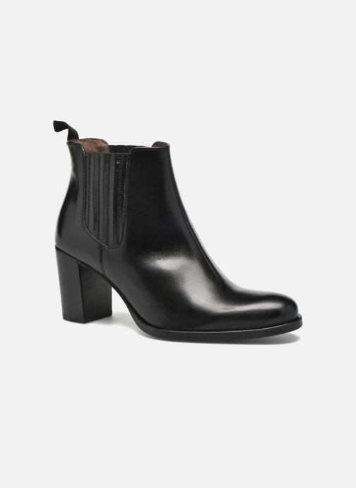 Ankle boots Muratti Juliette Black detailed view/ Pair view