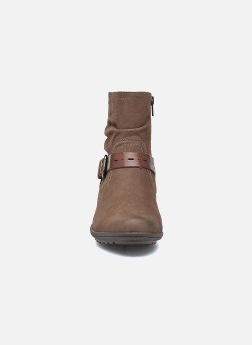 Bottines et boots Rockport Riley-CH INTL Marron vue portées chaussures