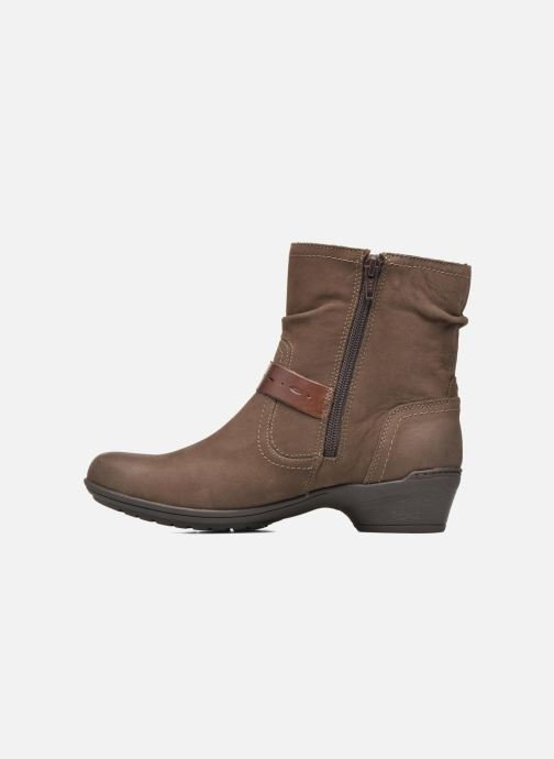 Bottines et boots Rockport Riley-CH INTL Marron vue face