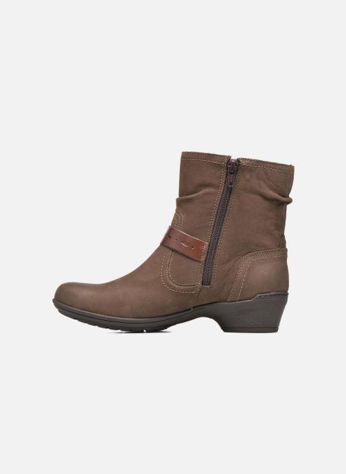 Bottines et boots Rockport Riley-CH INTL Marron vue face