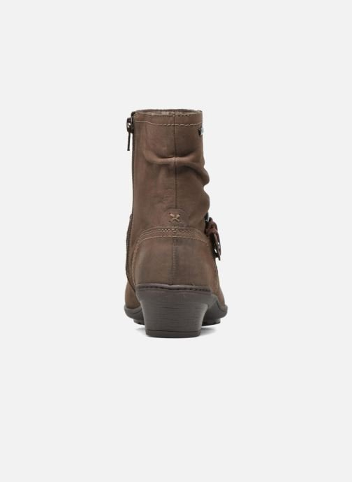 Bottines et boots Rockport Riley-CH INTL Marron vue droite