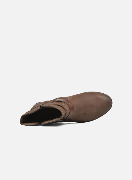 Bottines et boots Rockport Riley-CH INTL Marron vue gauche