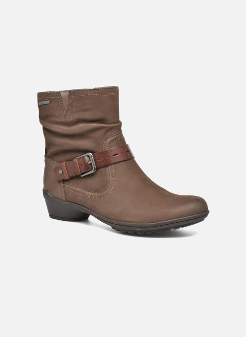 Bottines et boots Rockport Riley-CH INTL Marron vue détail/paire