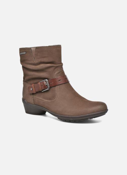 Bottines et boots Rockport Riley-CH INTL Marron vue détail/paire