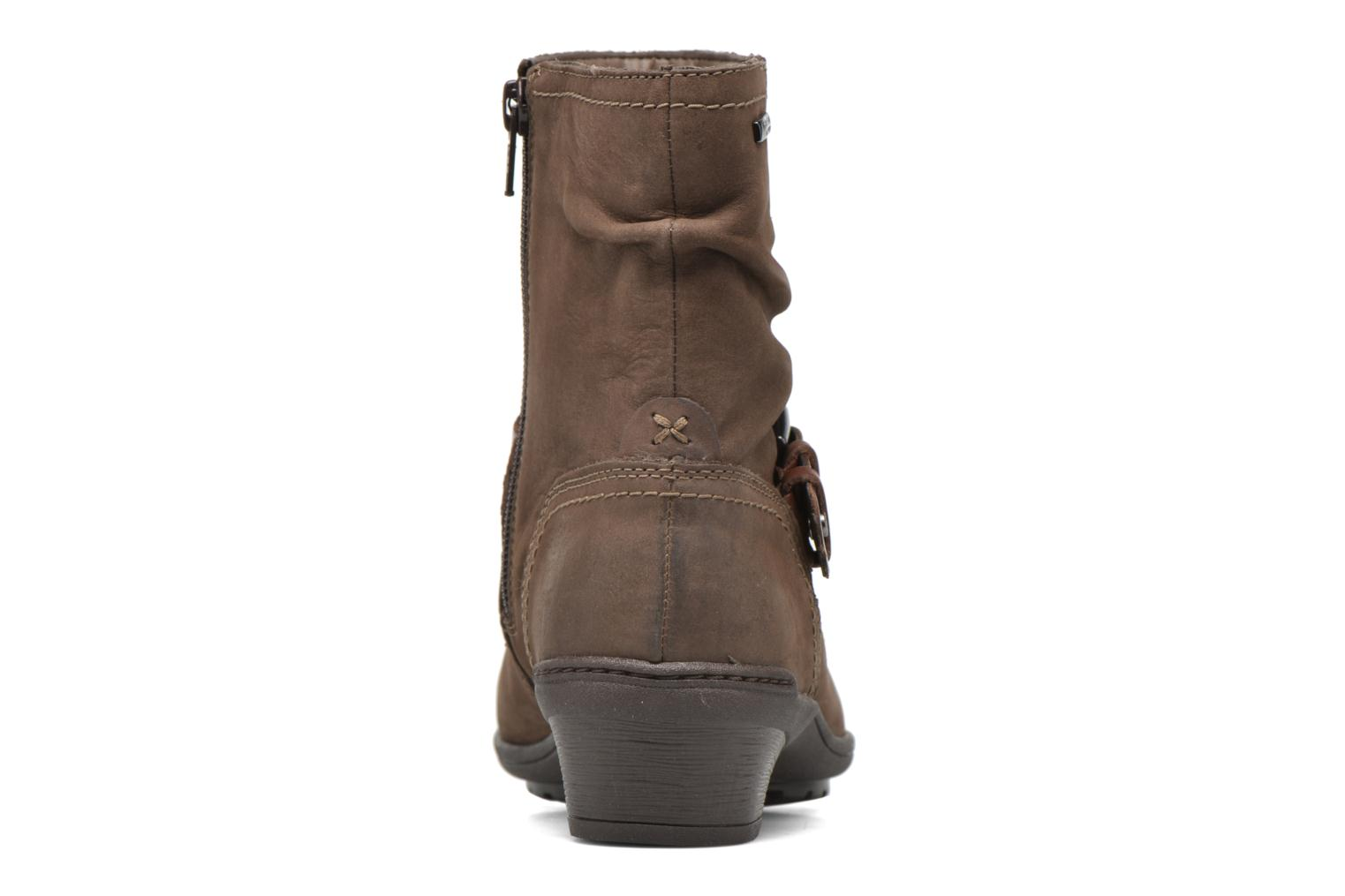 Ankle boots Rockport Riley-CH INTL Brown view from the right