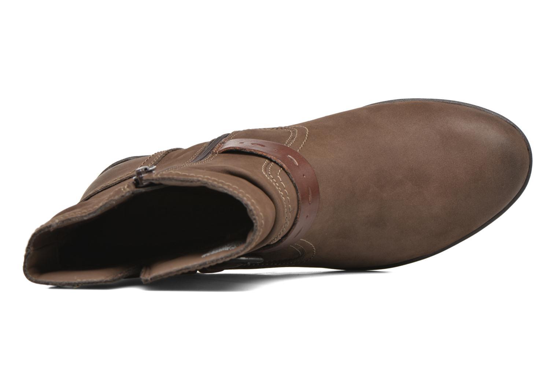Stiefeletten & Boots Rockport Riley-CH INTL braun ansicht von links