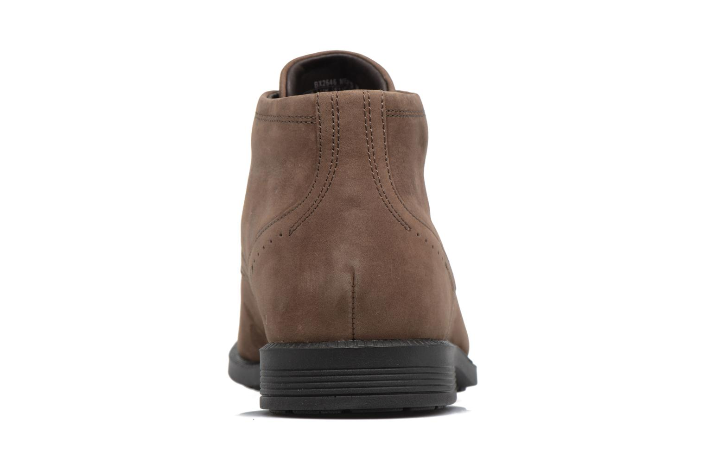 Zapatos con cordones Rockport DP Modern Chukka Beige vista lateral derecha