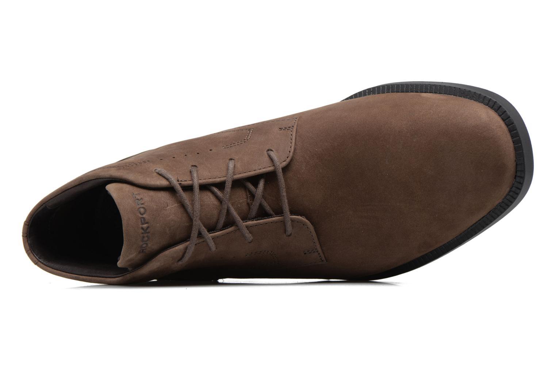 Zapatos con cordones Rockport DP Modern Chukka Beige vista lateral izquierda