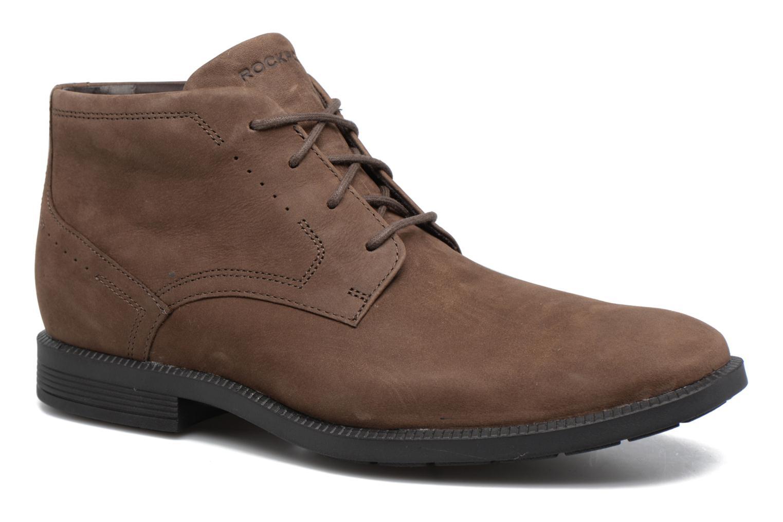 Zapatos con cordones Rockport DP Modern Chukka Beige vista de detalle / par