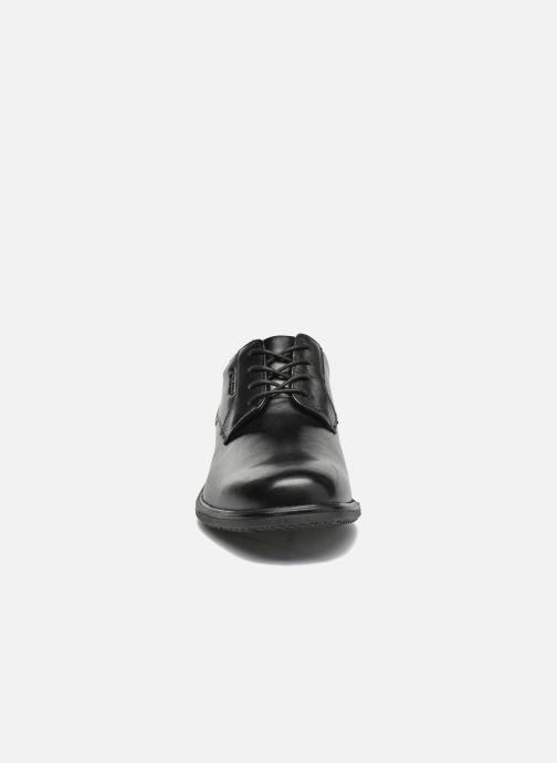 Snøresko Rockport Esntial Dtl II Plain Toe Sort se skoene på