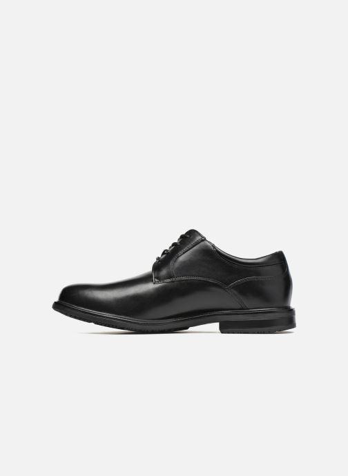 Chaussures à lacets Rockport Esntial Dtl II Plain Toe Noir vue face