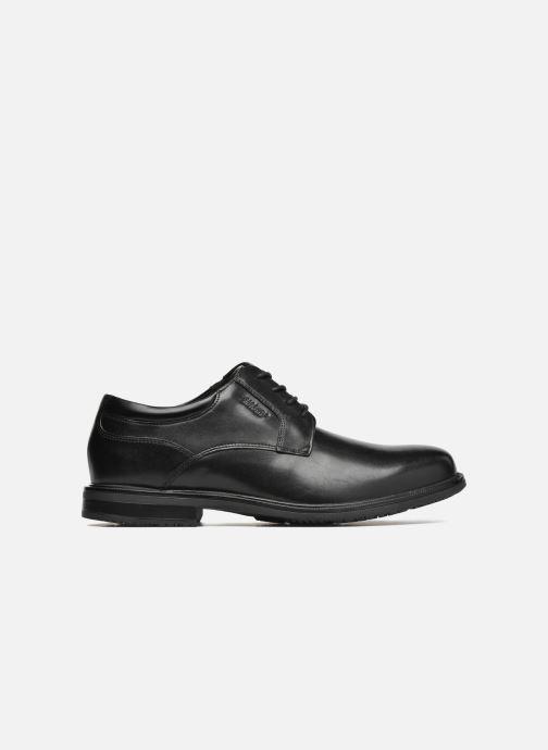 Chaussures à lacets Rockport Esntial Dtl II Plain Toe Noir vue derrière