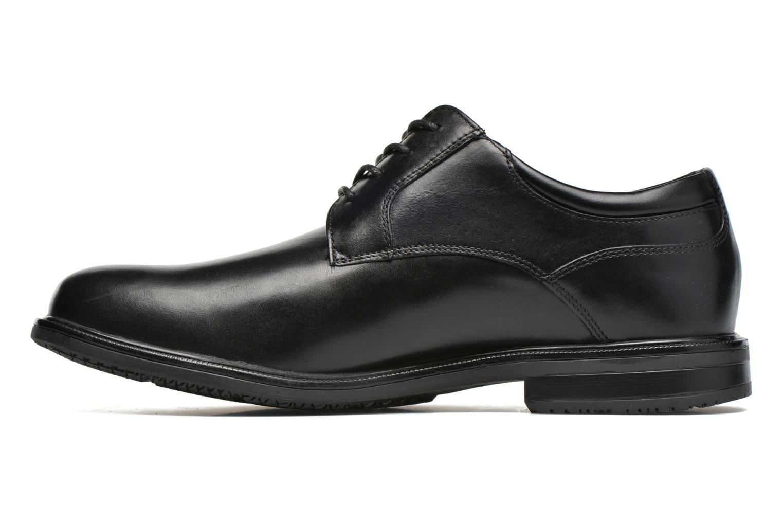 Lace-up shoes Rockport Esntial Dtl II Plain Toe Black front view