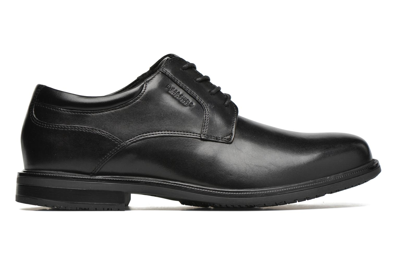 Lace-up shoes Rockport Esntial Dtl II Plain Toe Black back view