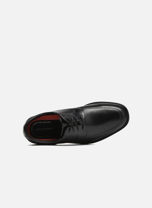 Chaussures à lacets Rockport Esntial Dtl II Apron Noir vue gauche