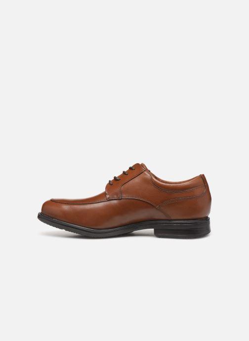Chaussures à lacets Rockport Esntial Dtl II Apron Marron vue face