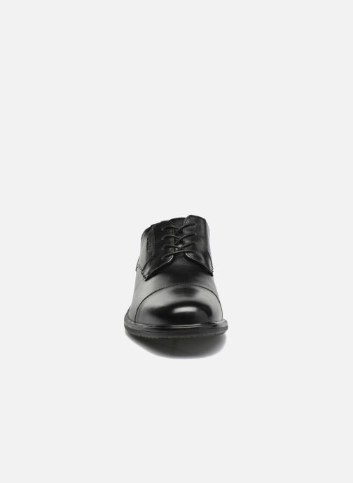 Schnürschuhe Rockport Esntial Dtl II Cap Toe schwarz schuhe getragen