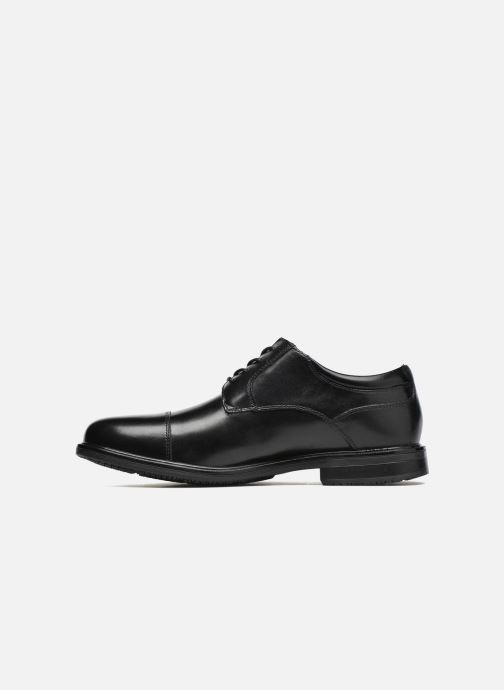 Chaussures à lacets Rockport Esntial Dtl II Cap Toe Noir vue face