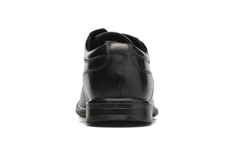 Chaussures à lacets Rockport Esntial Dtl II Cap Toe Noir vue droite
