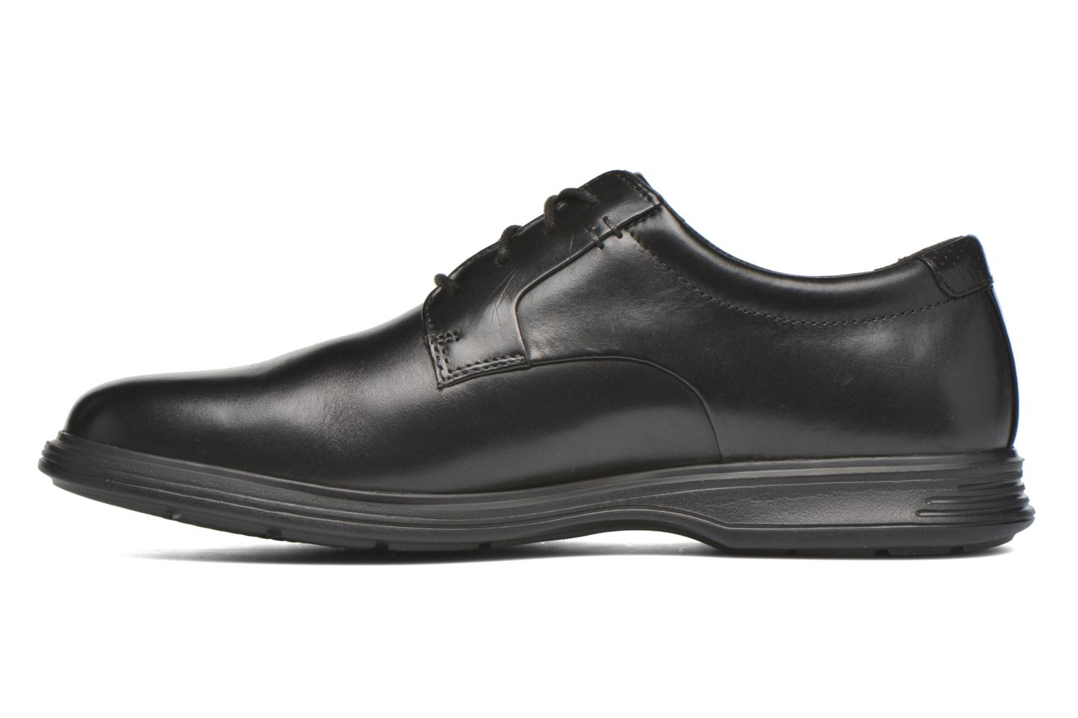 Zapatos con cordones Rockport DP2 Light Plaintoe Ox Negro vista de frente
