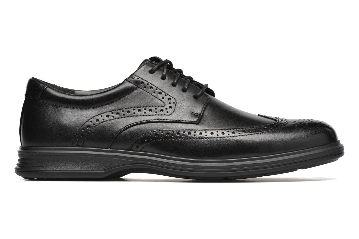 Lace-up shoes Rockport DP2 Light Wing Tip Black back view