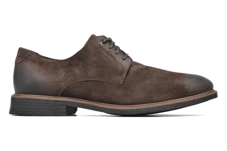 Chaussures à lacets Rockport Classic Break Plain Toe Marron vue derrière
