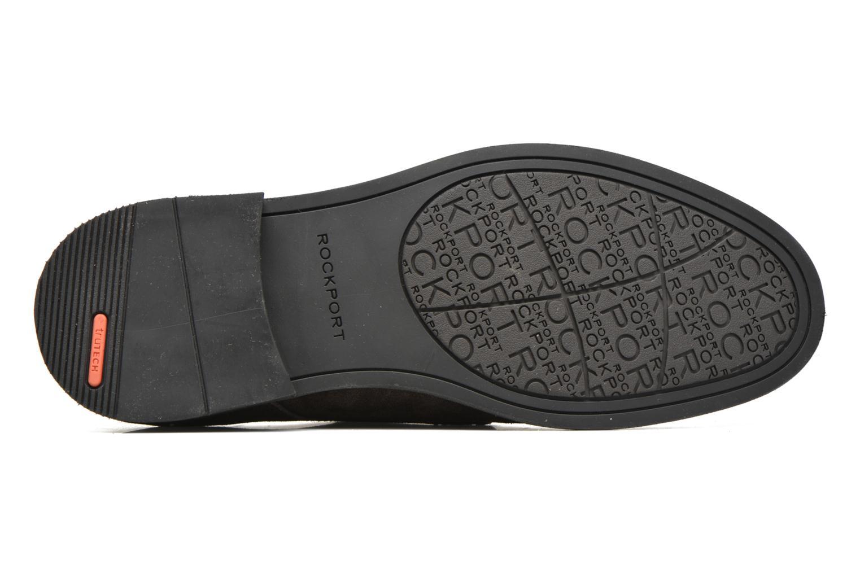 Chaussures à lacets Rockport Classic Break Plain Toe Marron vue haut