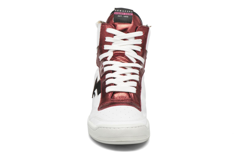 Baskets Serafini San Diego II Blanc vue portées chaussures