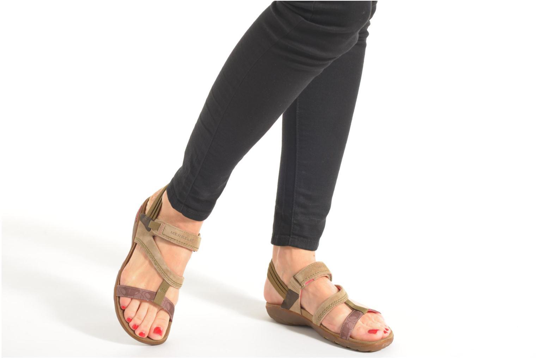 Sandales et nu-pieds Merrell Mimosa Mace Beige vue bas / vue portée sac