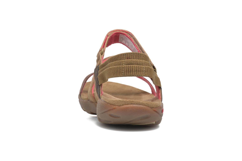 Sandales et nu-pieds Merrell Mimosa Mace Beige vue droite