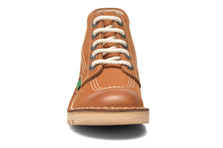 Bottines et boots Kickers Neorallye -2 Marron vue portées chaussures