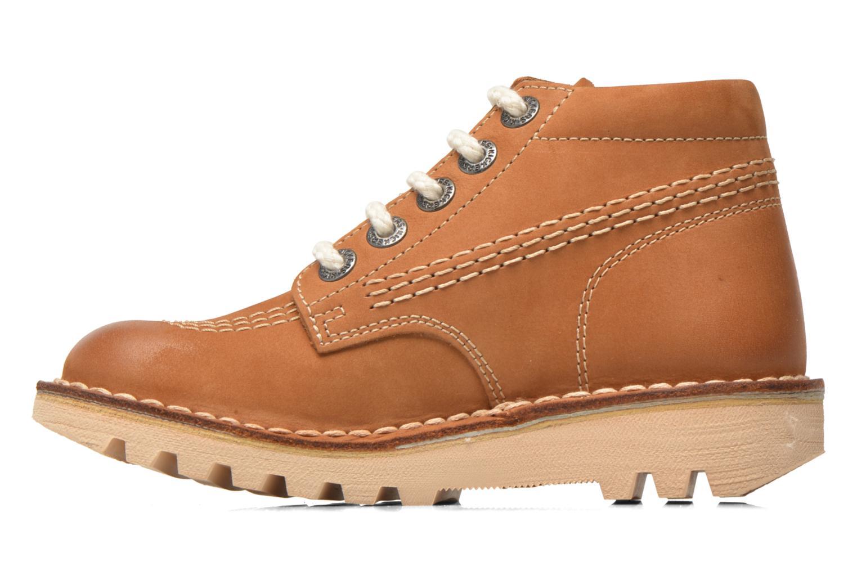 Bottines et boots Kickers Neorallye -2 Marron vue face