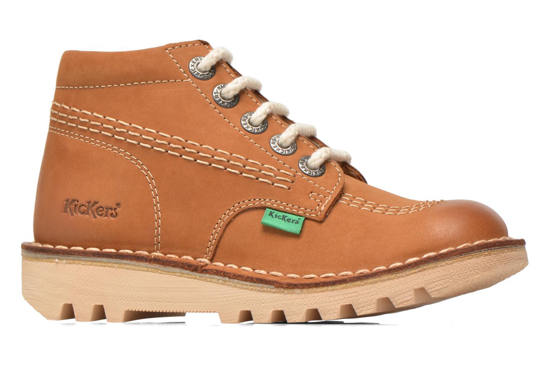Bottines et boots Kickers Neorallye -2 Marron vue derrière