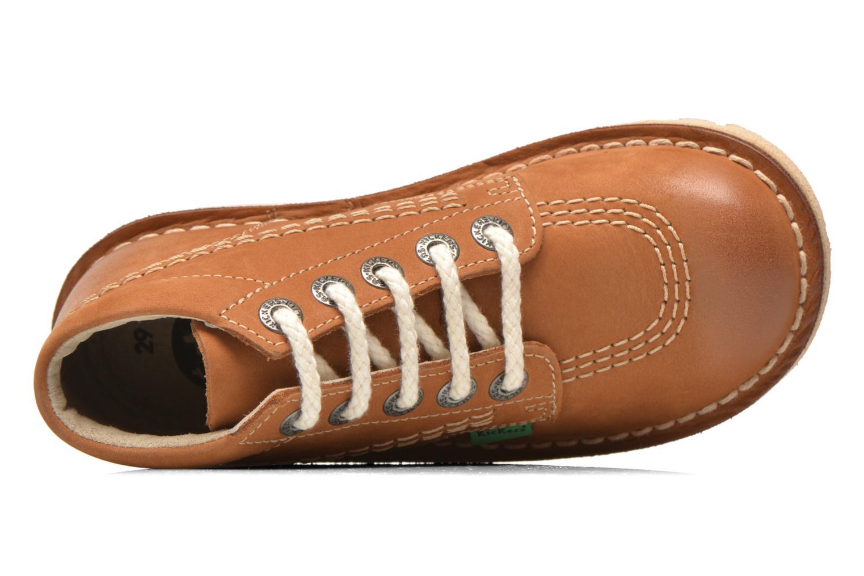 Bottines et boots Kickers Neorallye -2 Marron vue gauche